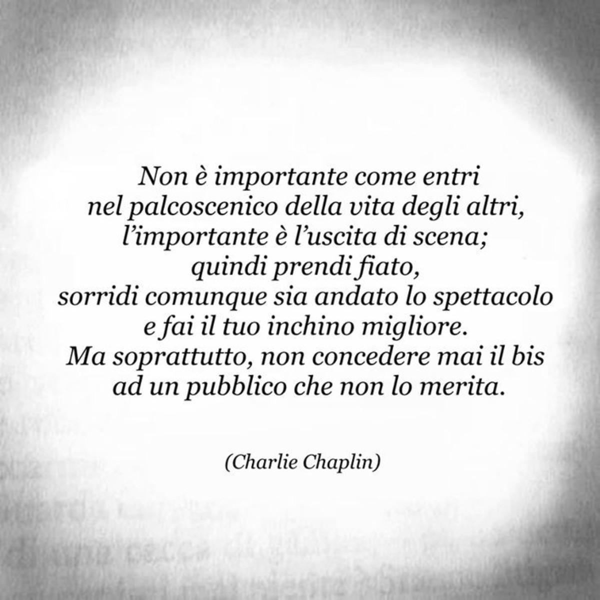Aforismi Belli Di Charlie Chaplin Buongiornoate It