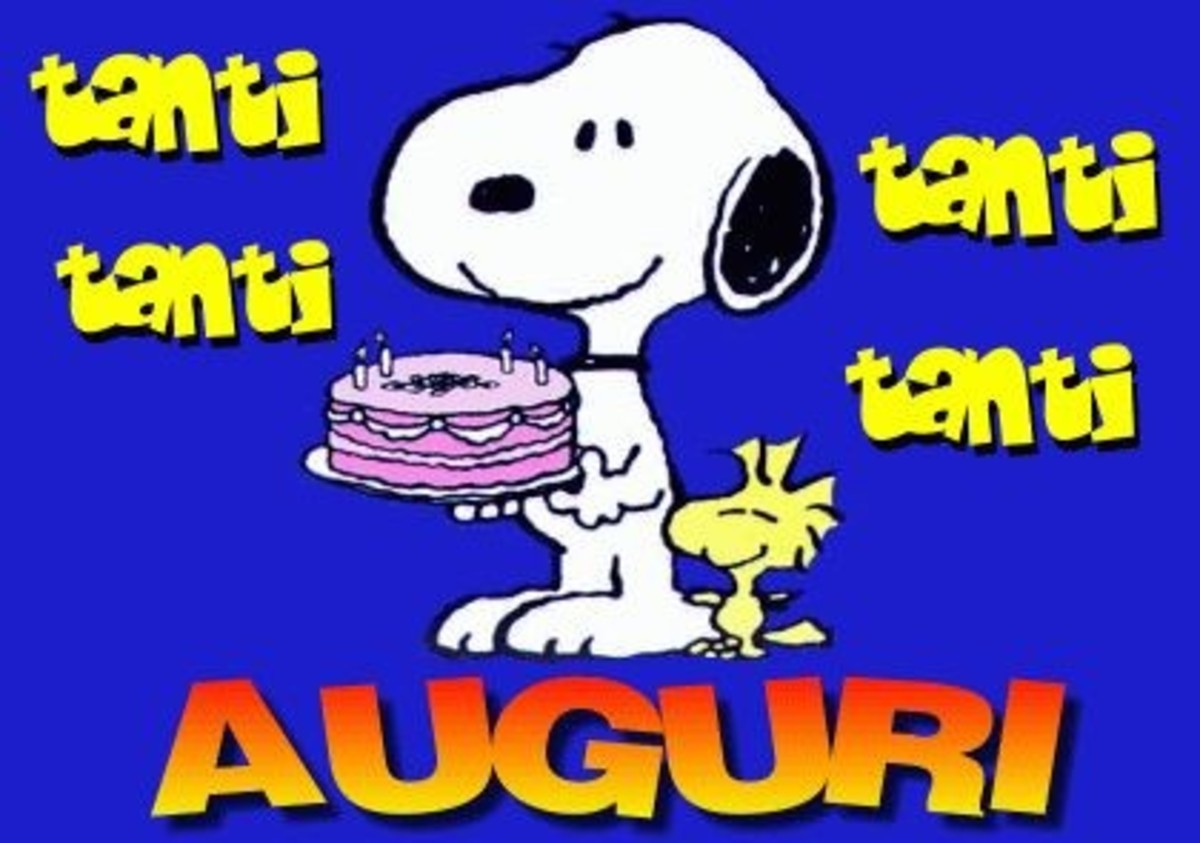 Auguri Con Snoopy Buongiornoate It