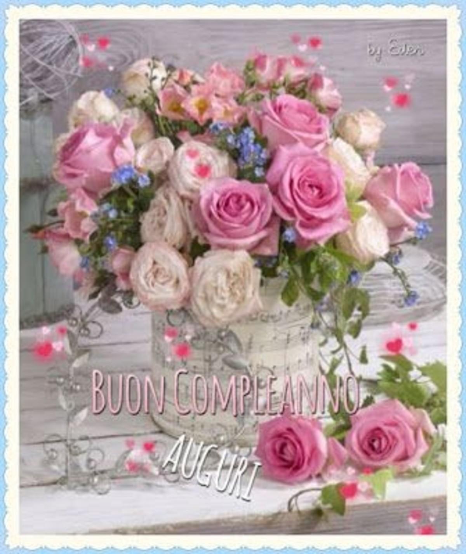 Auguri Di Buon Compleanno Con I Fiori Buongiornoate It