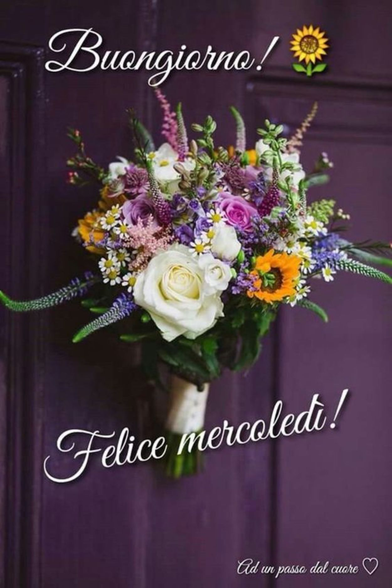 Bei fiori per buon mercoledì