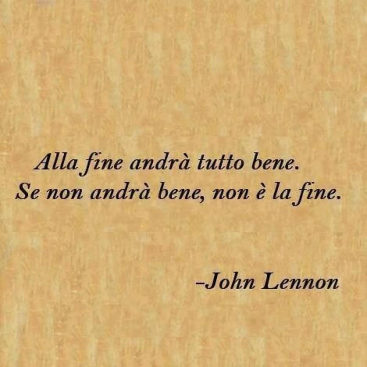 Frasi Sulla Vita John Lennon.Belle Frasi Di John Lennon Buongiornoate It