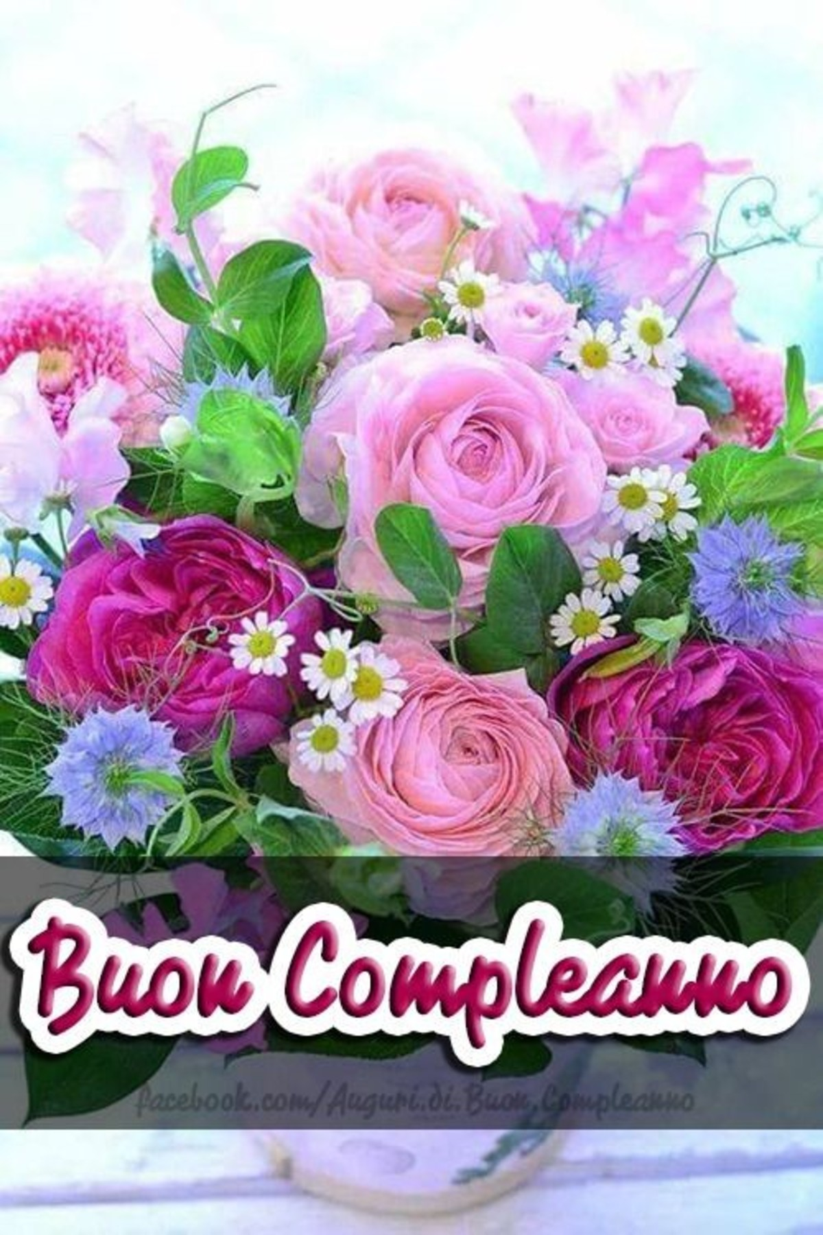 Buon Compleanno Con Fiori 3 Buongiornoate It