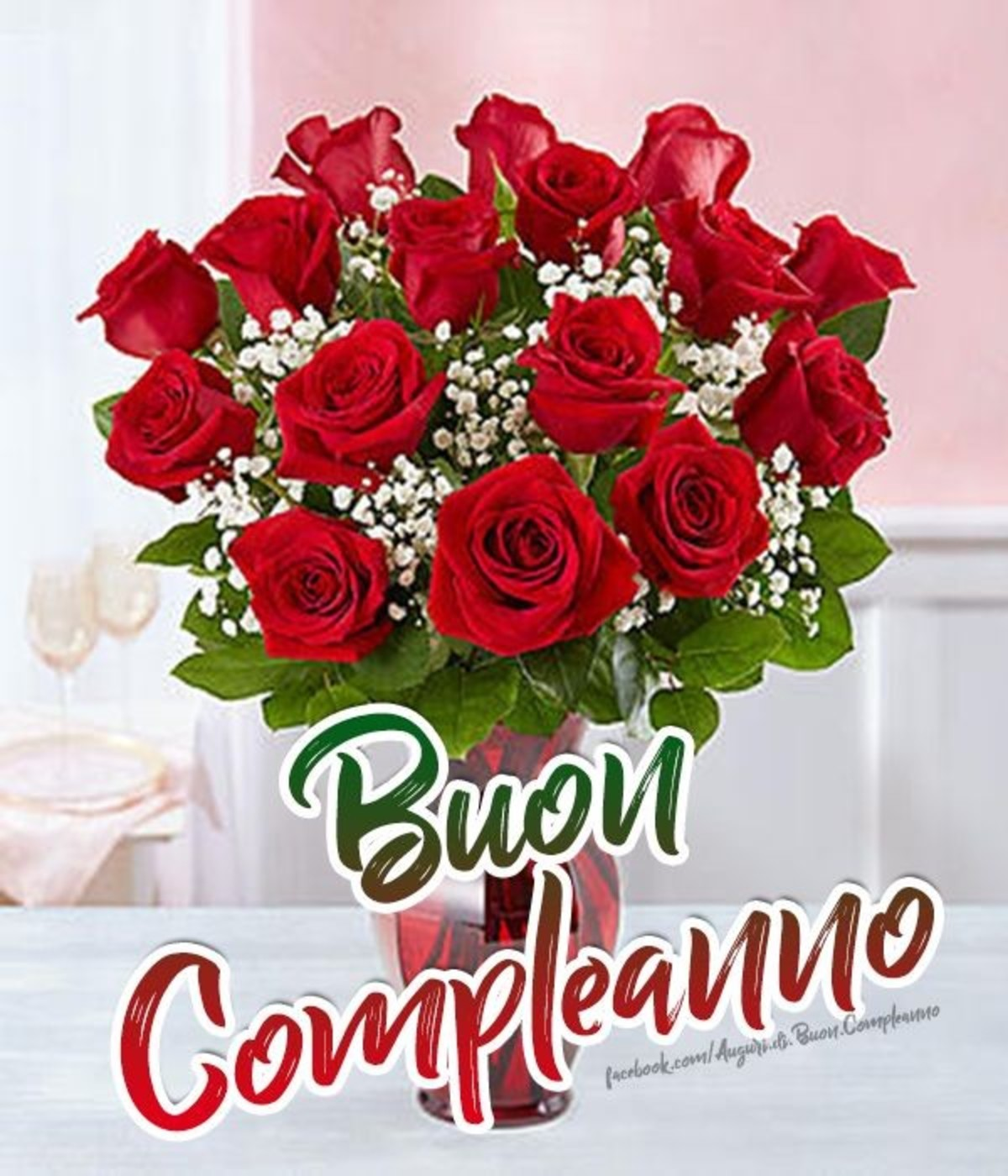 Buon Compleanno Con Fiori Buongiornoate It