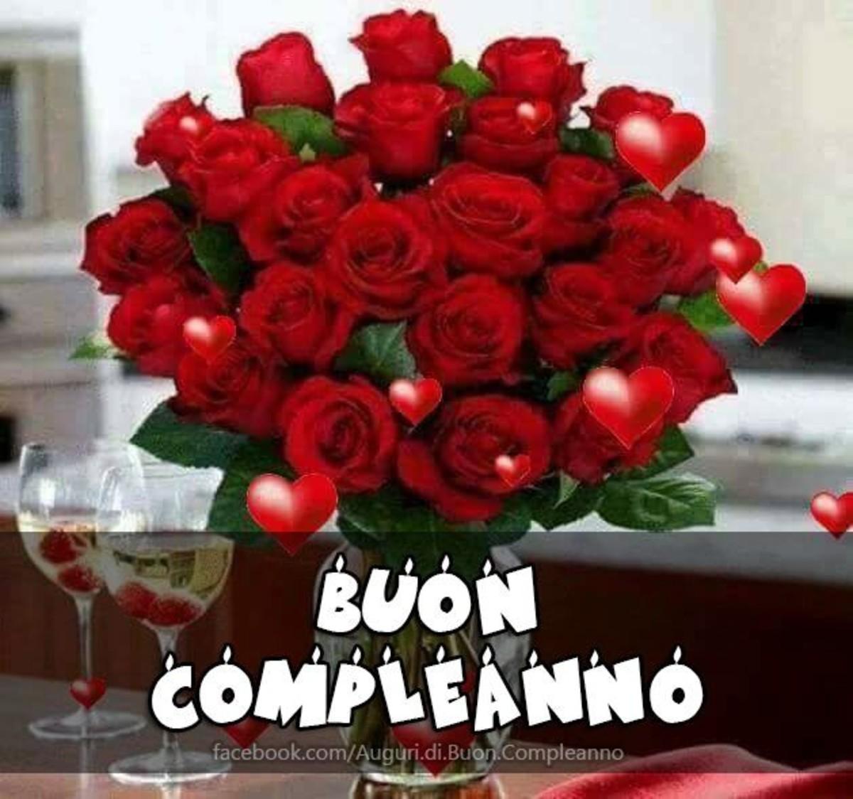 Buon Compleanno Con I Fiori Buongiornoate It