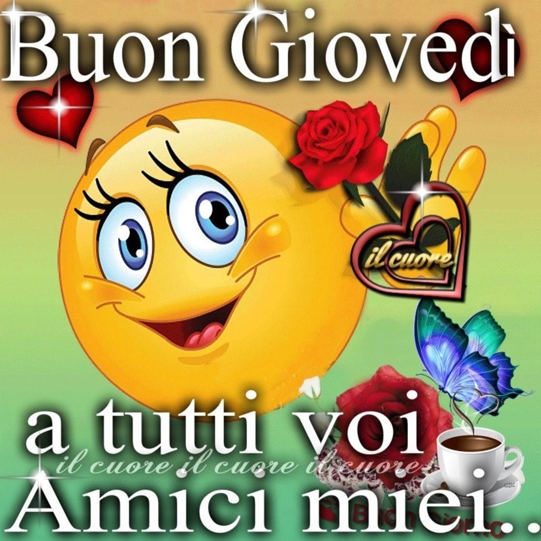 Buon Giovedi A Tutti Voi Amici Miei Buongiornoate It