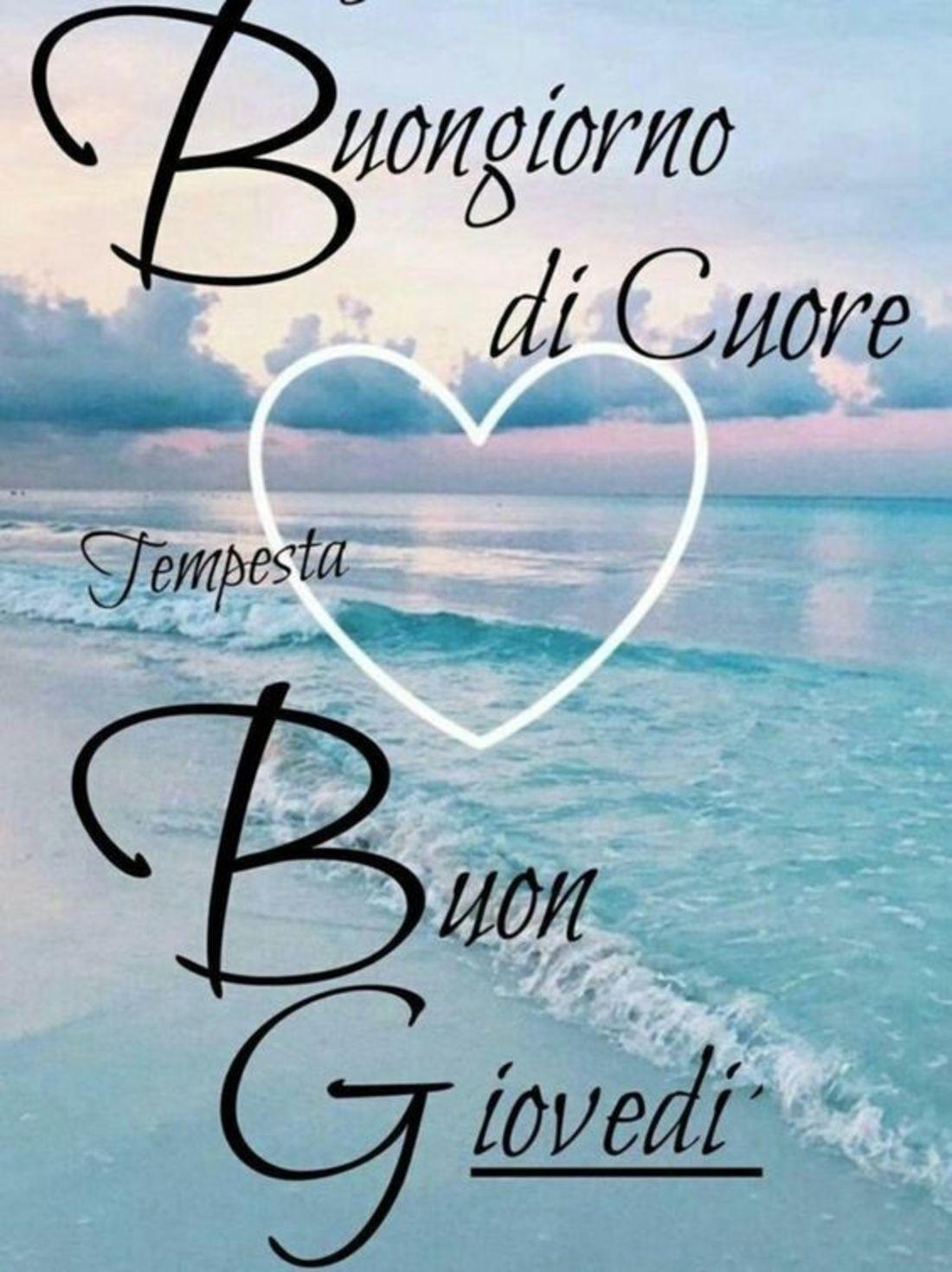 Buon Giovedi Con Il Mare Buongiornoate It