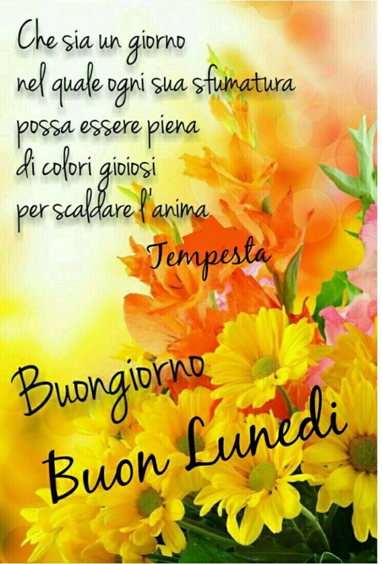 Buon Lunedì Con Bellissima Frase Buongiornoateit