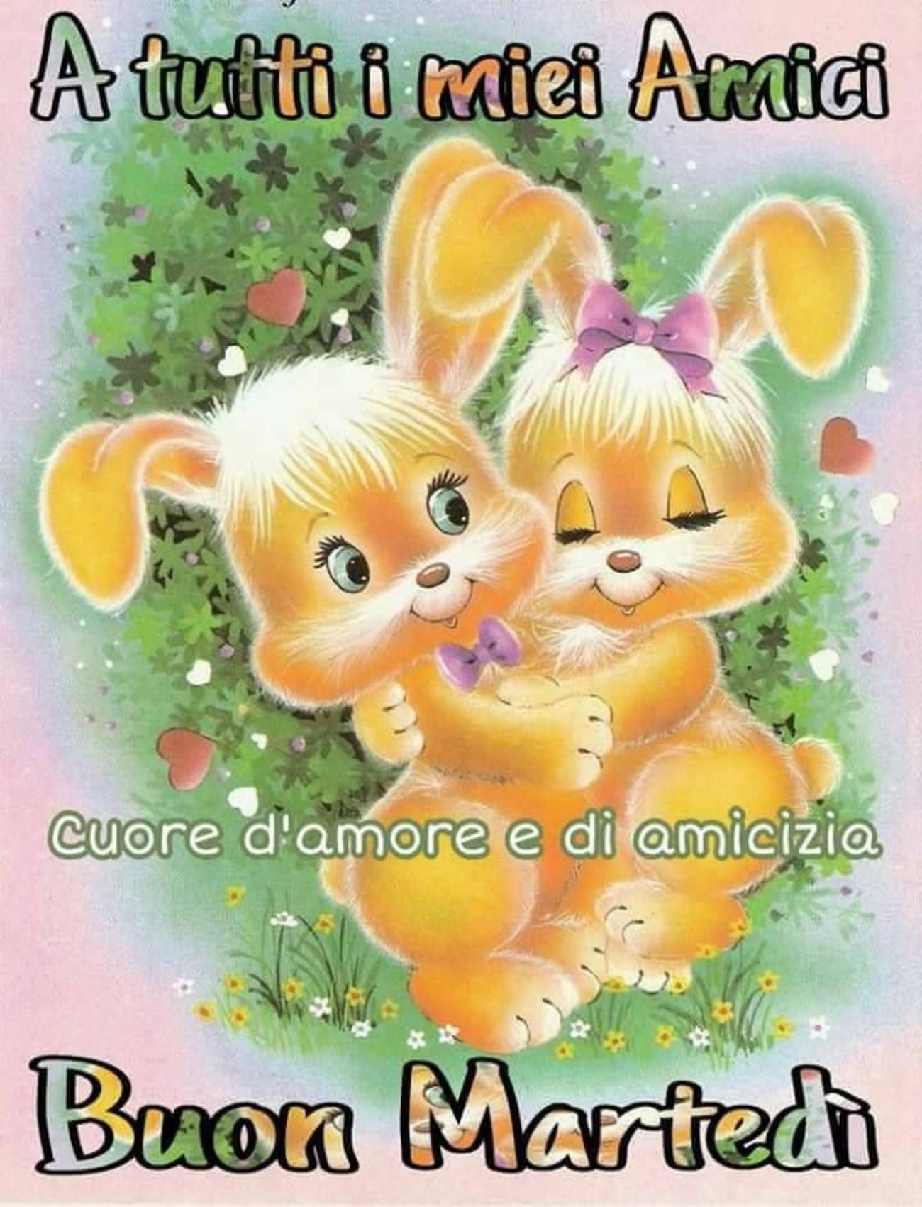 Buon Martedì Con Animali 3 Buongiornoate It
