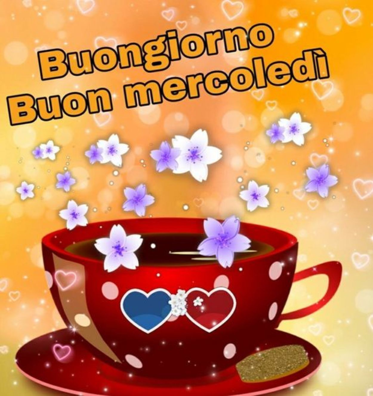 Buon Mercoledì Con Caffè Amici Buongiornoate It