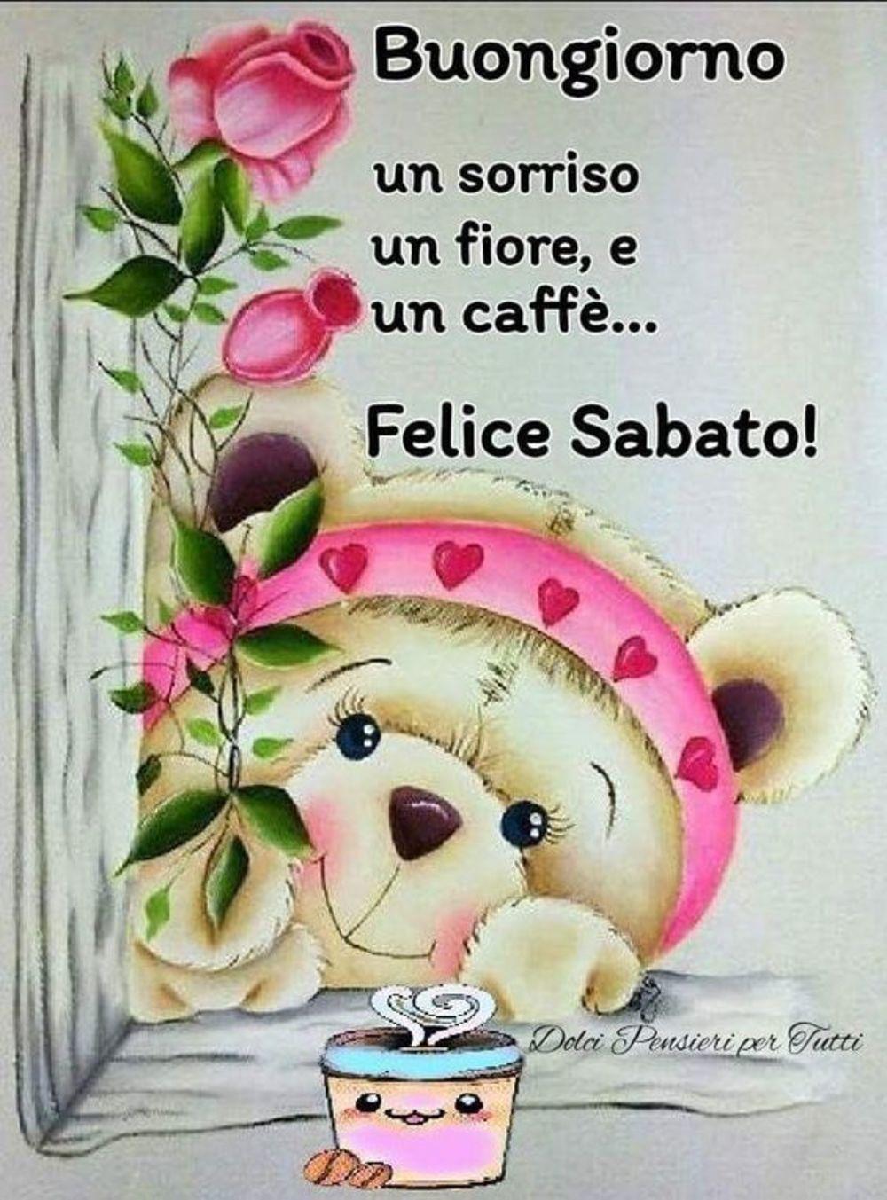 Buon Sabato Affettuoso 2 Buongiornoate It