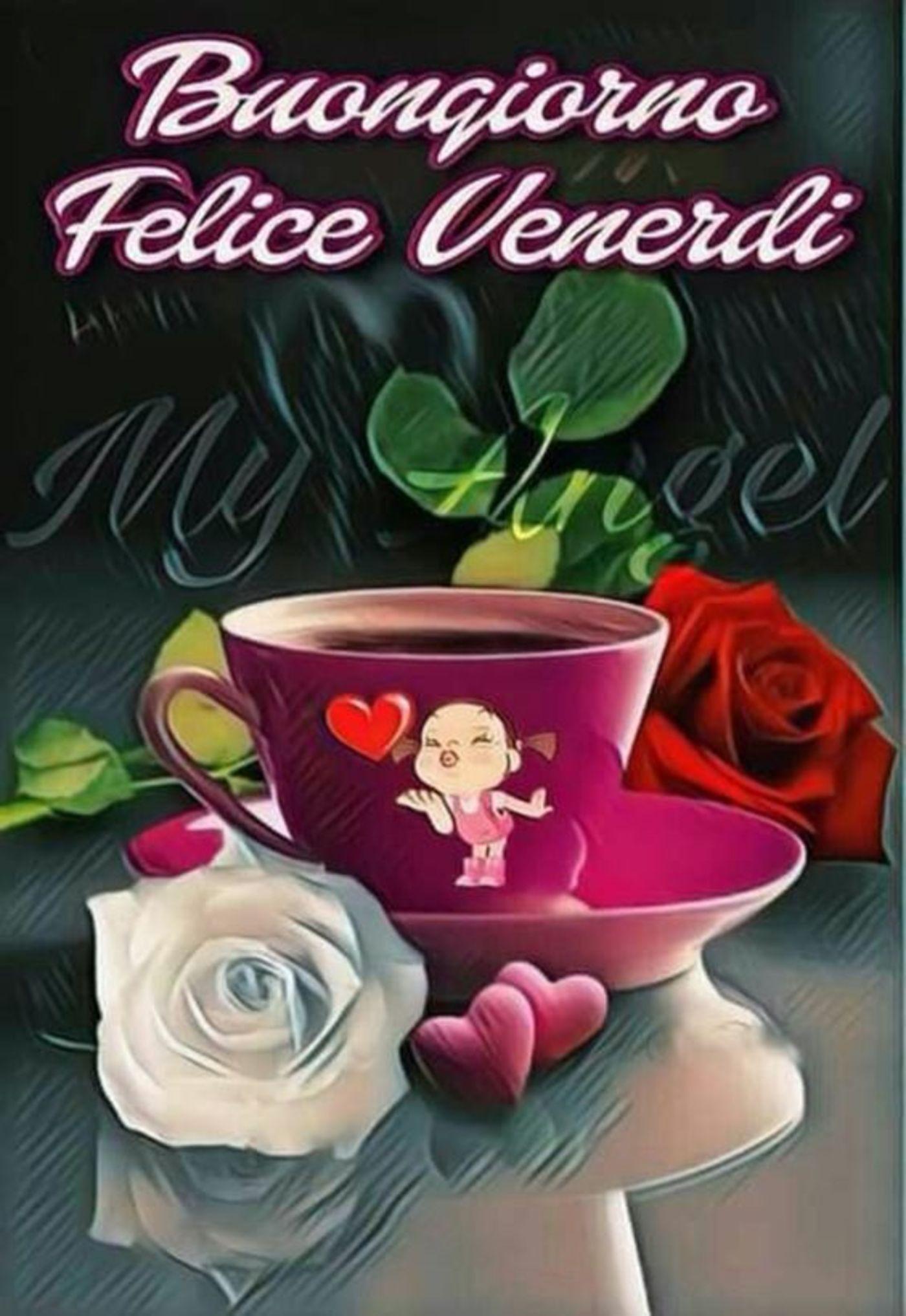 Buon Venerdì Con Caffè Buongiornoate It