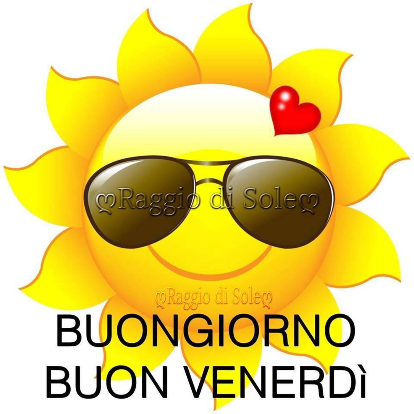 Buon Venerdì Con Il Sole Buongiornoateit