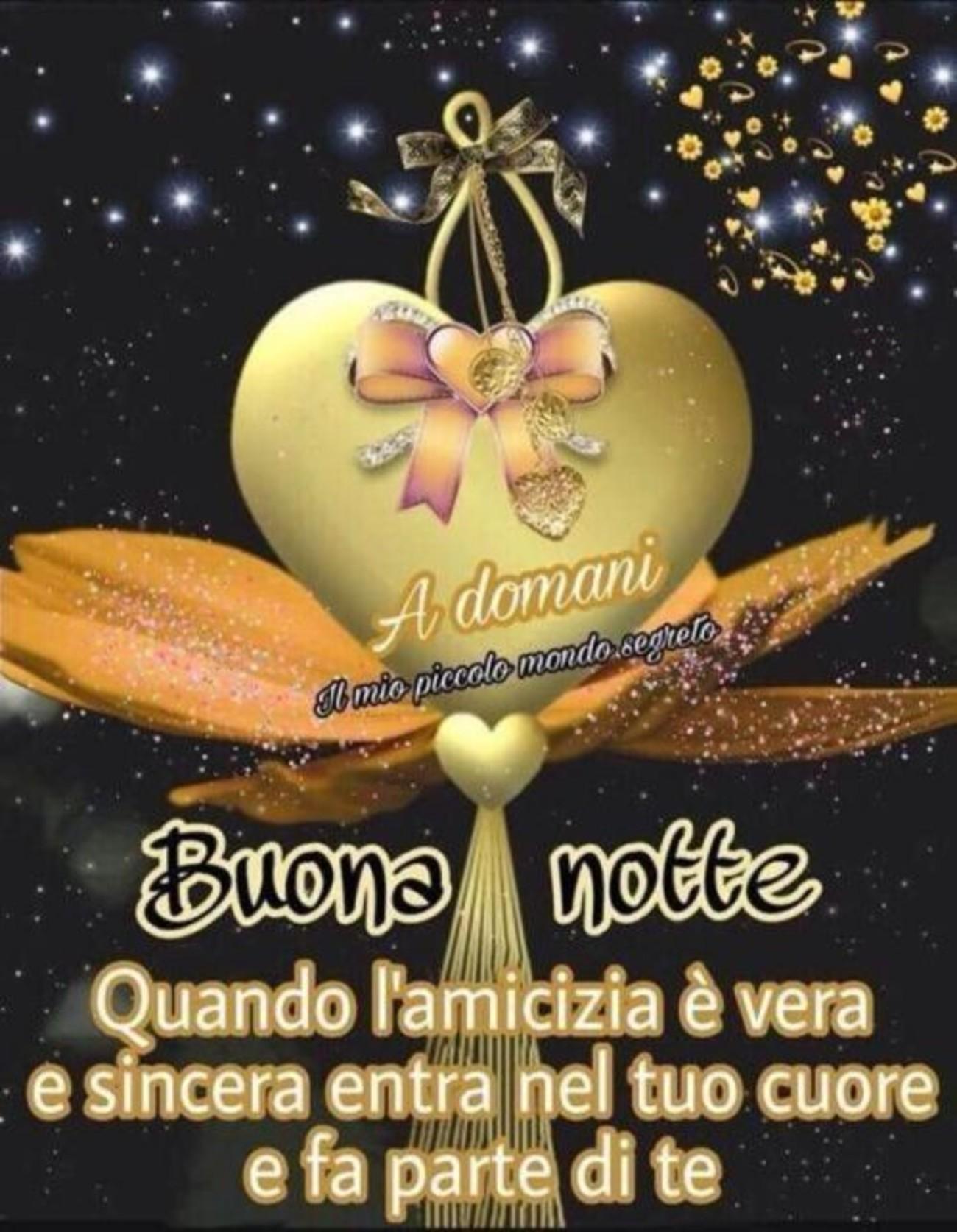 Buonanotte Di Cuore Amici 5 Buongiornoate It