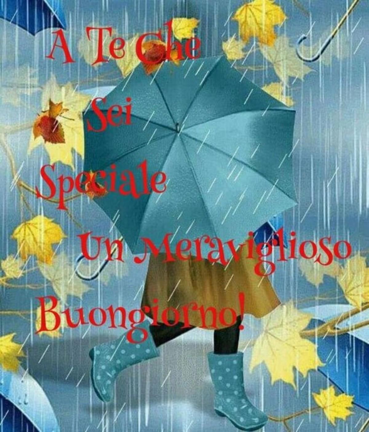 Buongiorno Con La Pioggia 2 Buongiornoateit