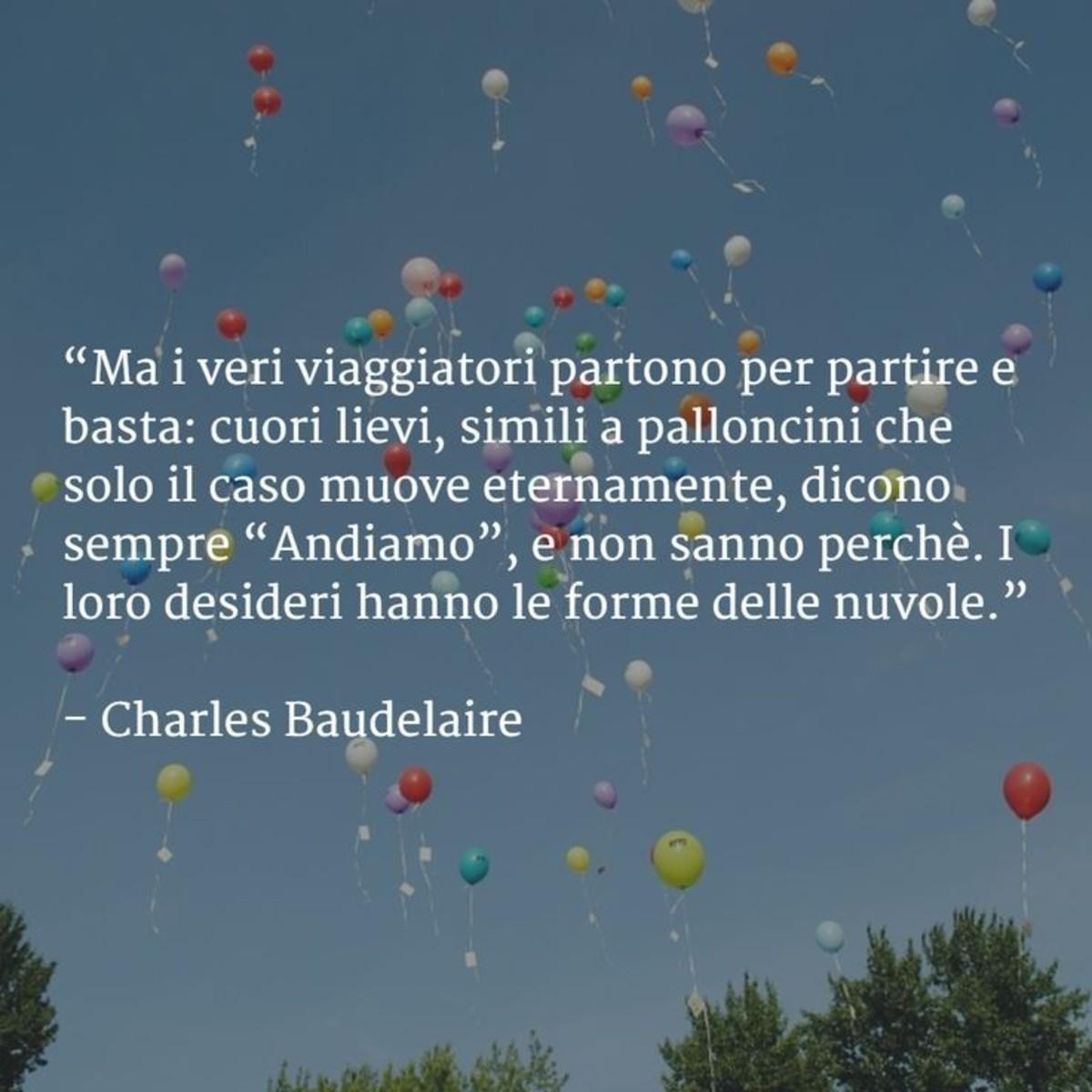 Frasi Di Charles Baudelaire Buongiornoate It