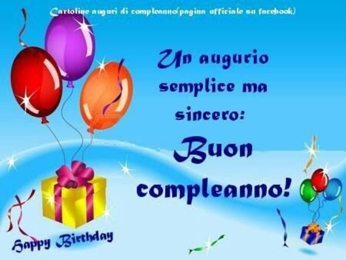 Frasi Di Buon Compleanno Gratis Buongiornoate It