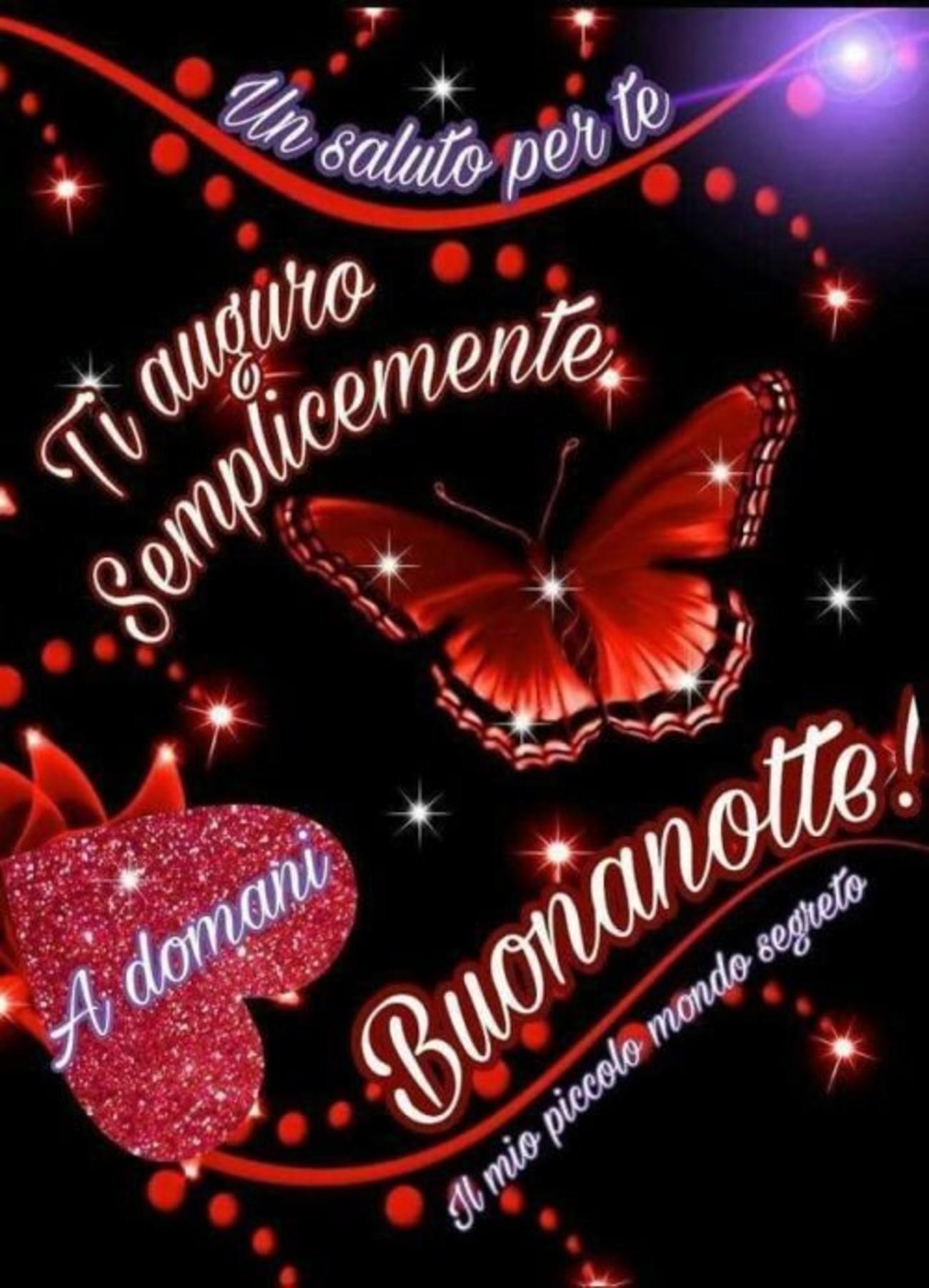 Buonanotte Con Farfalle 2 Buongiornoate It