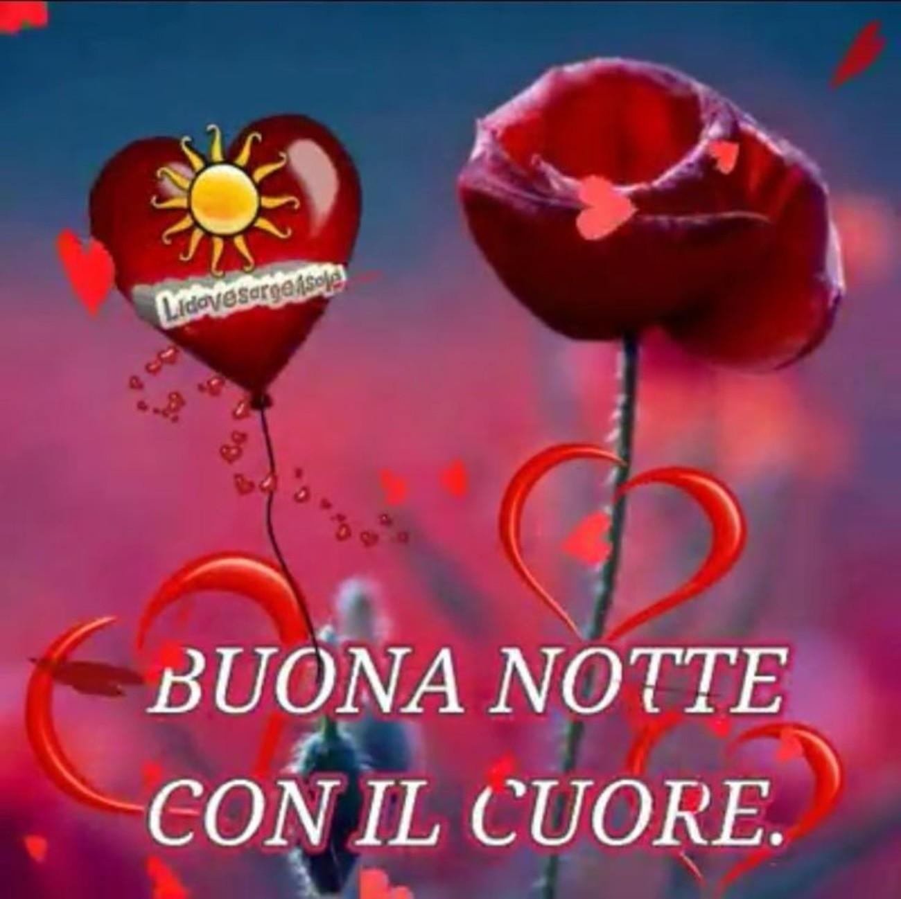 Buonanotte Con Il Cuore 2 Buongiornoate It