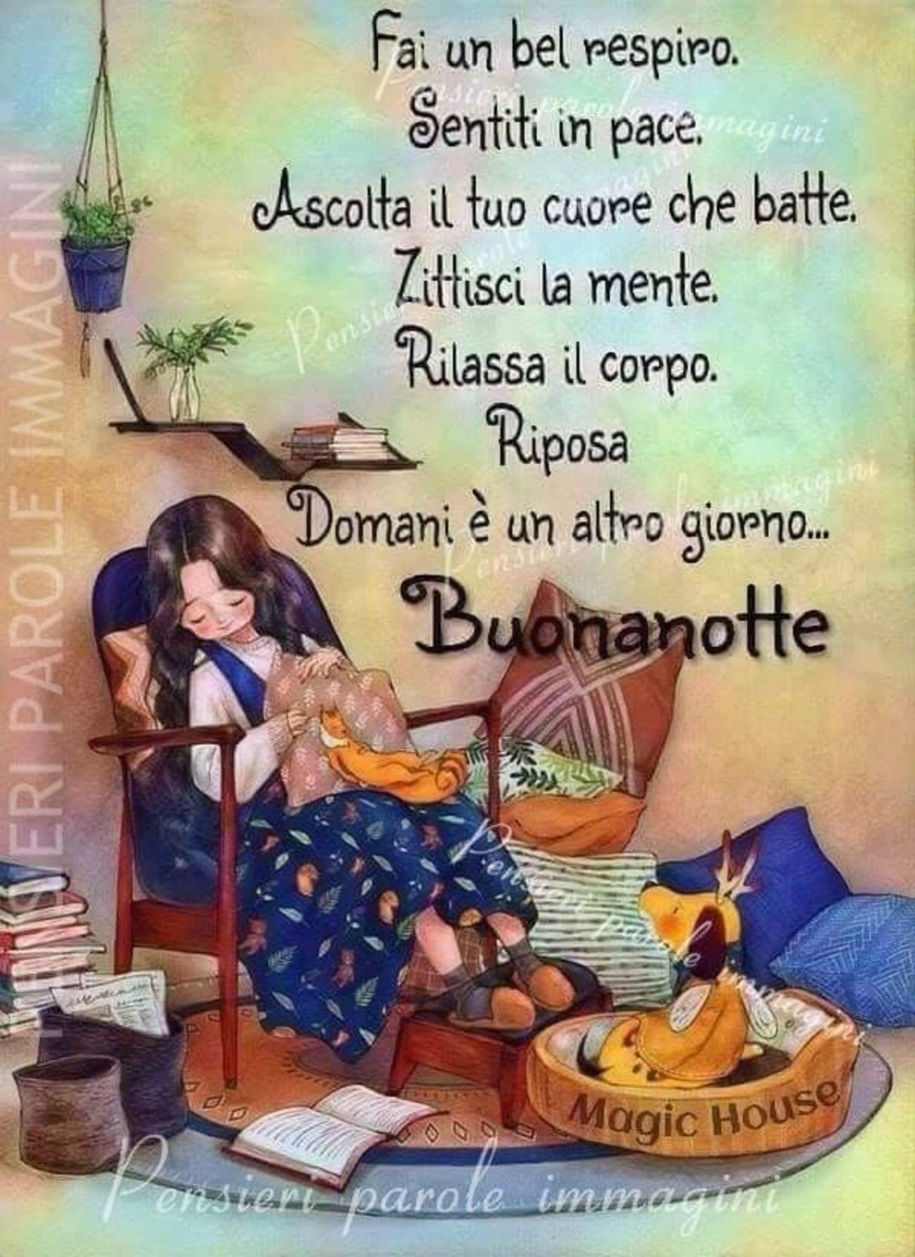 Buonanotte E Buon Riposo 2 Buongiornoate It