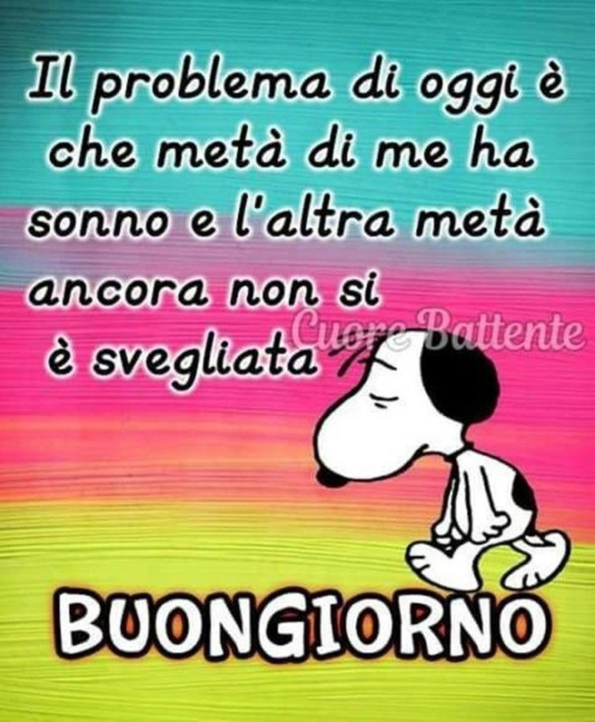 Buongiorno Da Ridere Con Snoopy Buongiornoateit