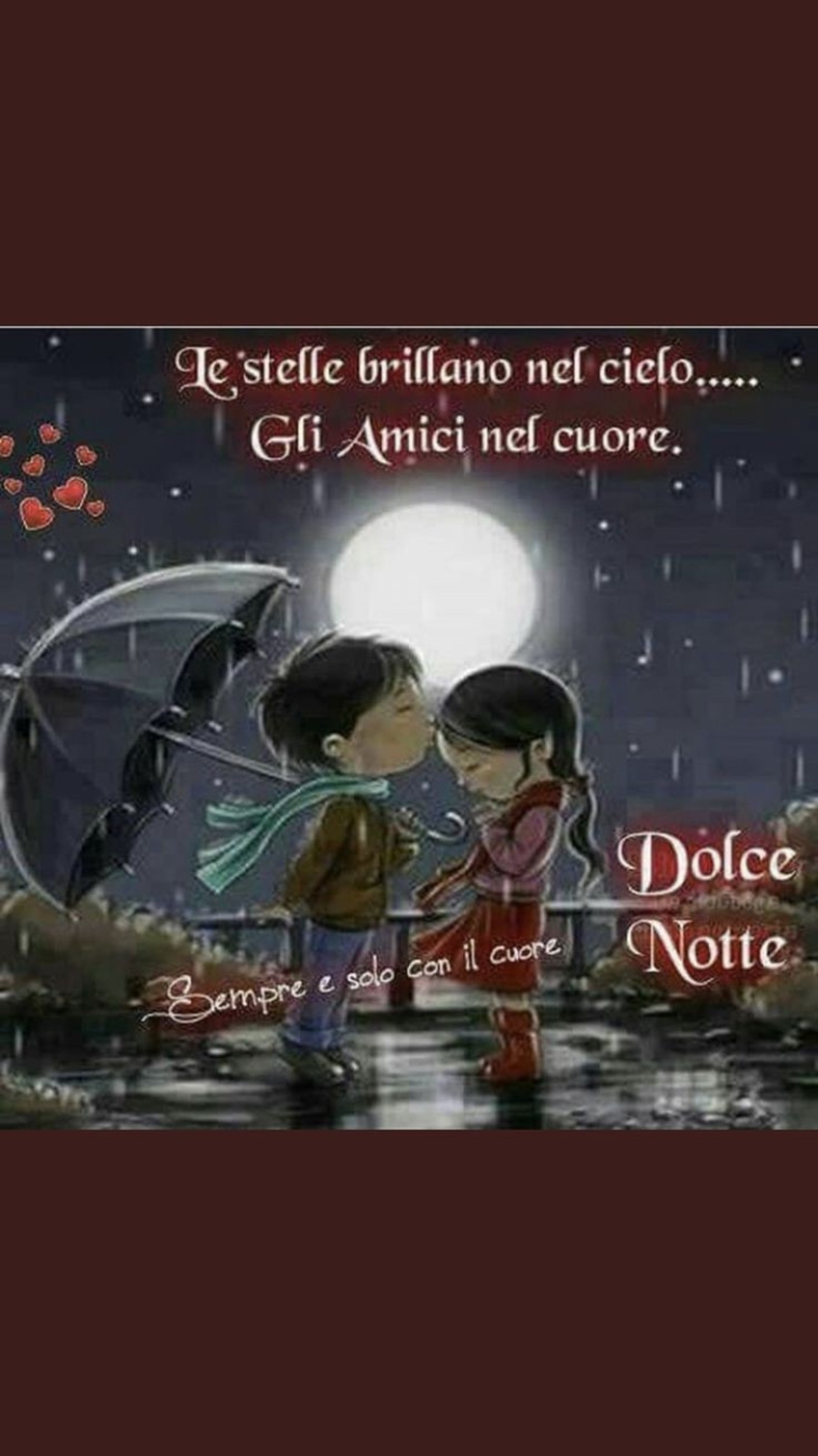 Dolce notte amici