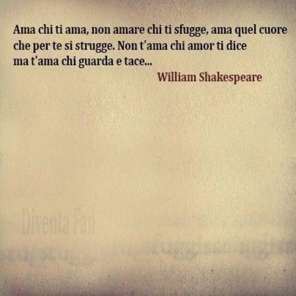 Frasi Sull Amore Di William Shakespeare Buongiornoate It