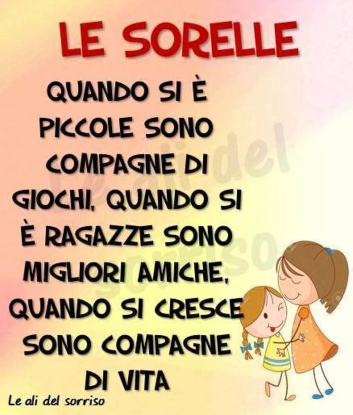 Frasi Sulle Sorelle 2 Buongiornoate It