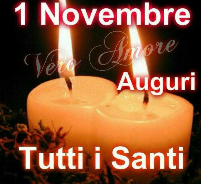1 Novembre Auguri Tutti i Santi