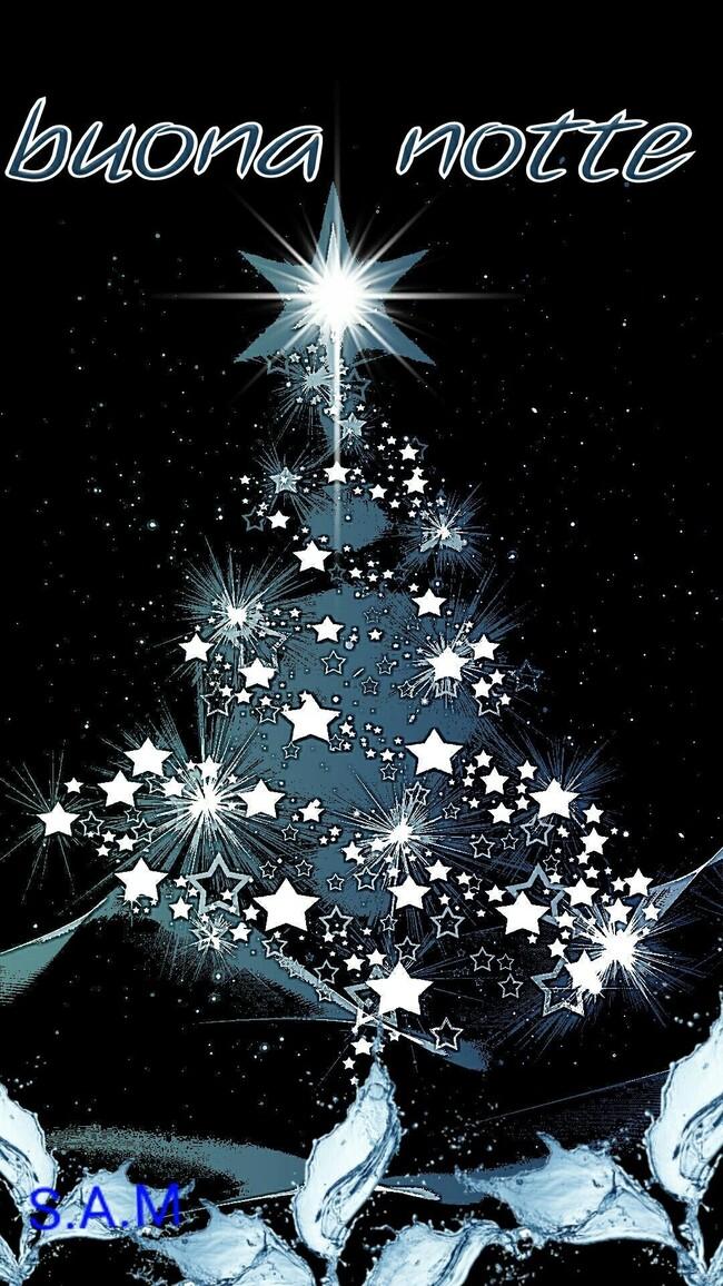 Buonanotte albero di Natale (1)