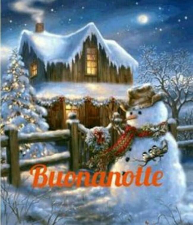Buonanotte immagini natalizie per Facebook (3)
