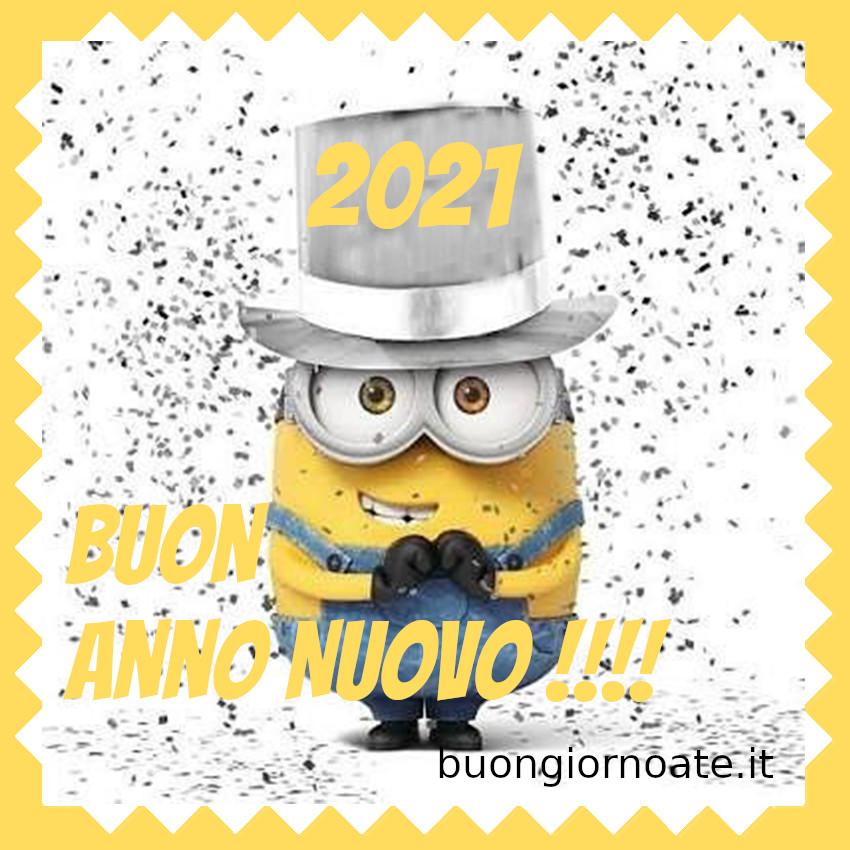 Minions Buon Anno Nuovo 2021 Auguri