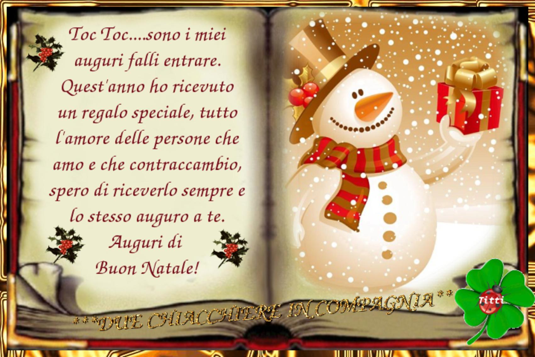 Auguri di buon Natale nuove cartoline